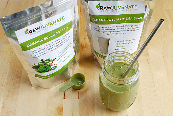 Rawjuvenate Detox Smoothie