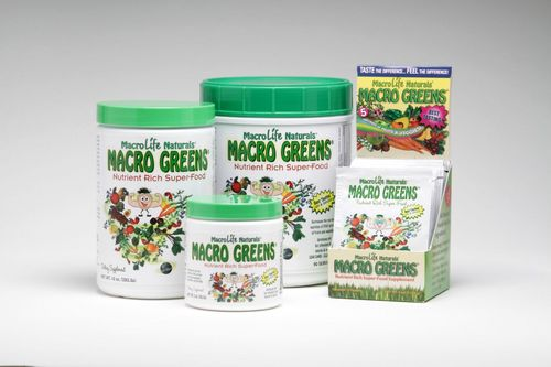 Macro Greens Barley Juice Powder
