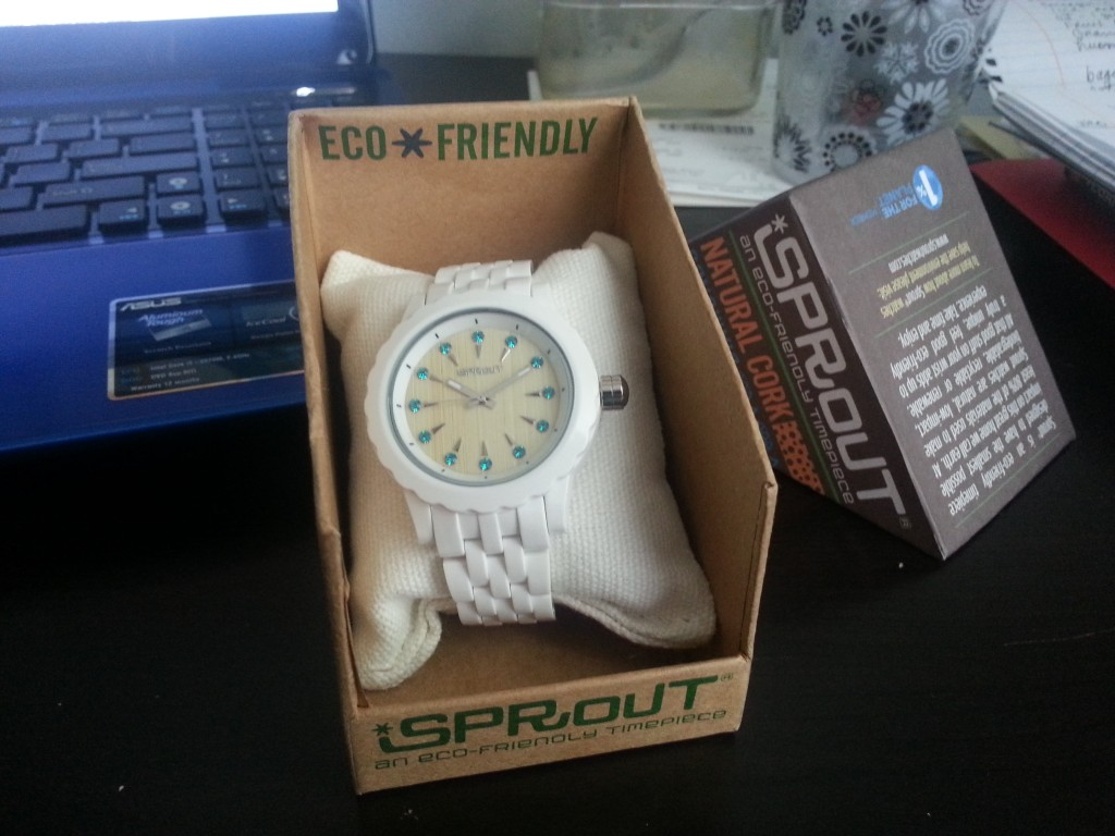 Sprout Watches packaging