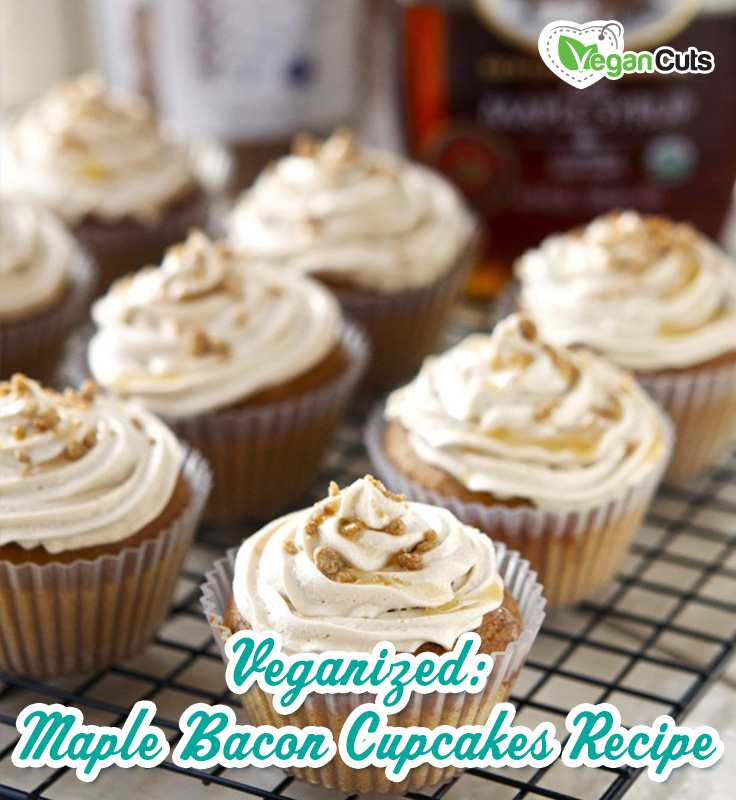 Veganized: Maple Bacon Cupcakes Recipe