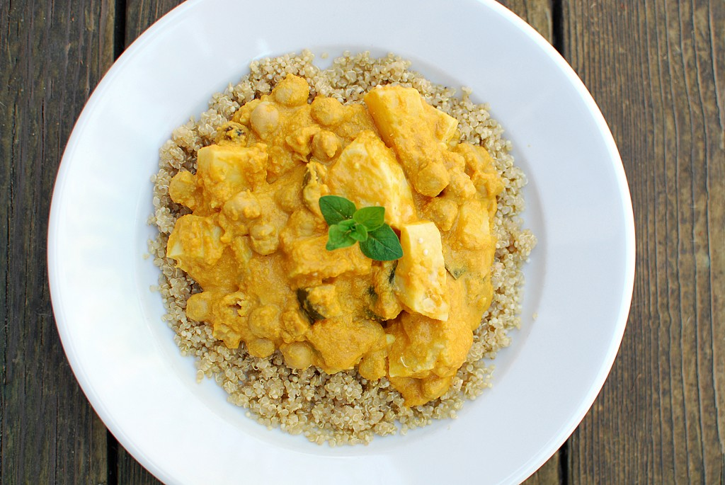 Pumpkin Stew with Quinoa