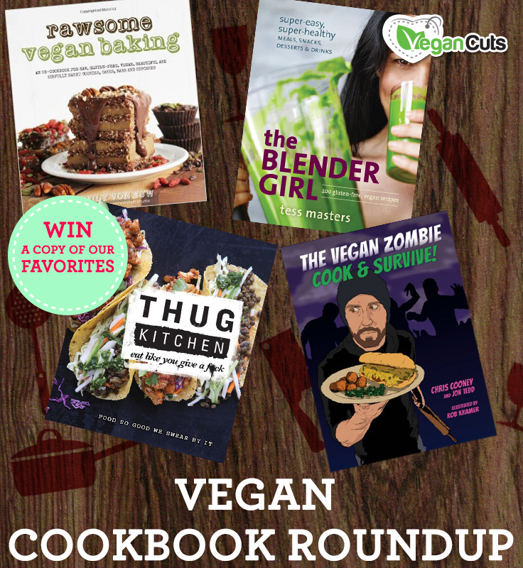 Vegan Cookbook Roundup