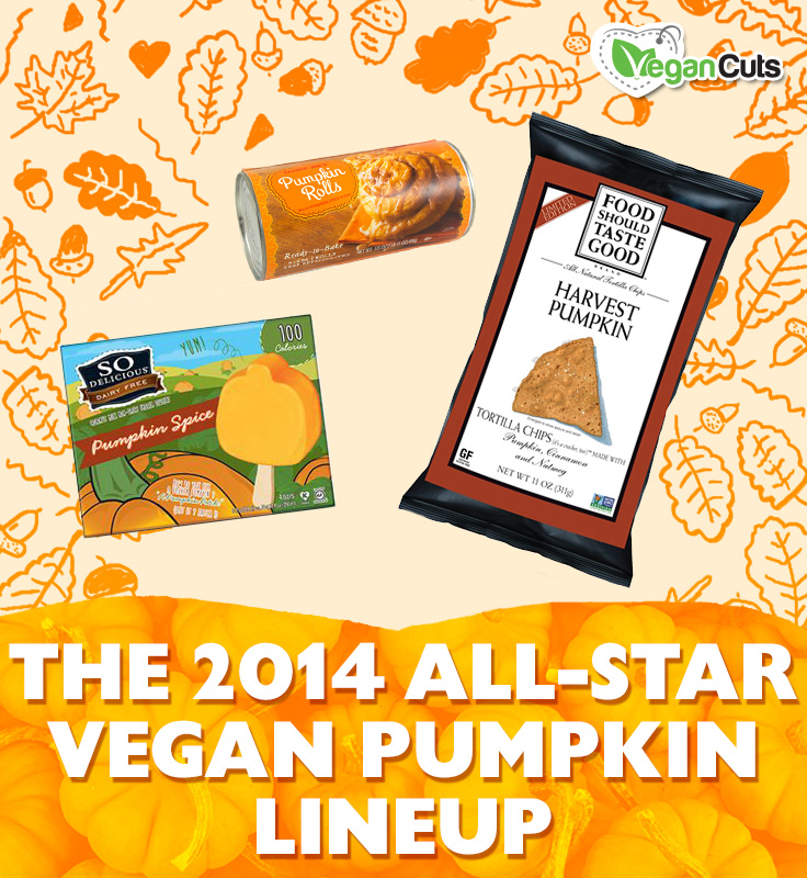 The 2014 All-Star Vegan Pumpkin Lineup