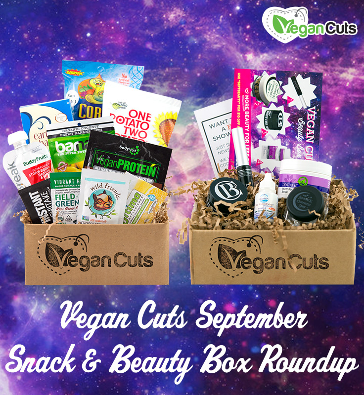 September Snack & Beauty Box Roundup