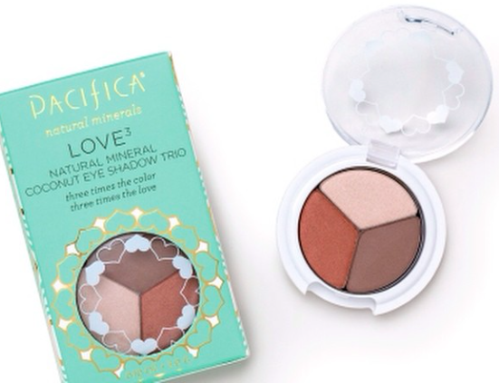 Pacifica Coconut Eye Shadow Trio Compact