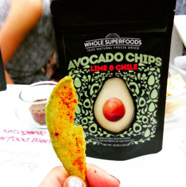 Yumma Superfoods - Lime & Chile Avocado Chips