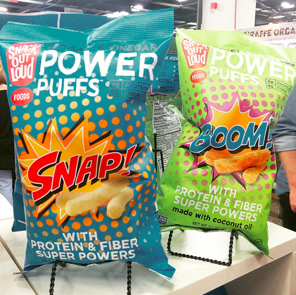 Snack Out Loud Power Puffs