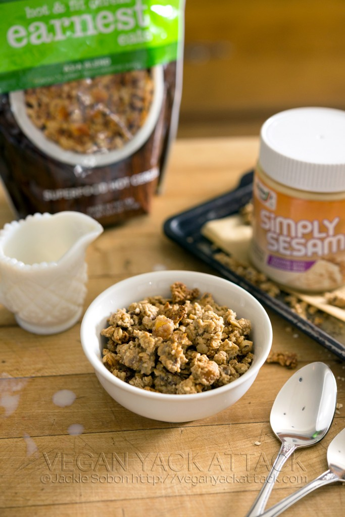 Earnest Eats Asian Blend Sesame Tahini Granola