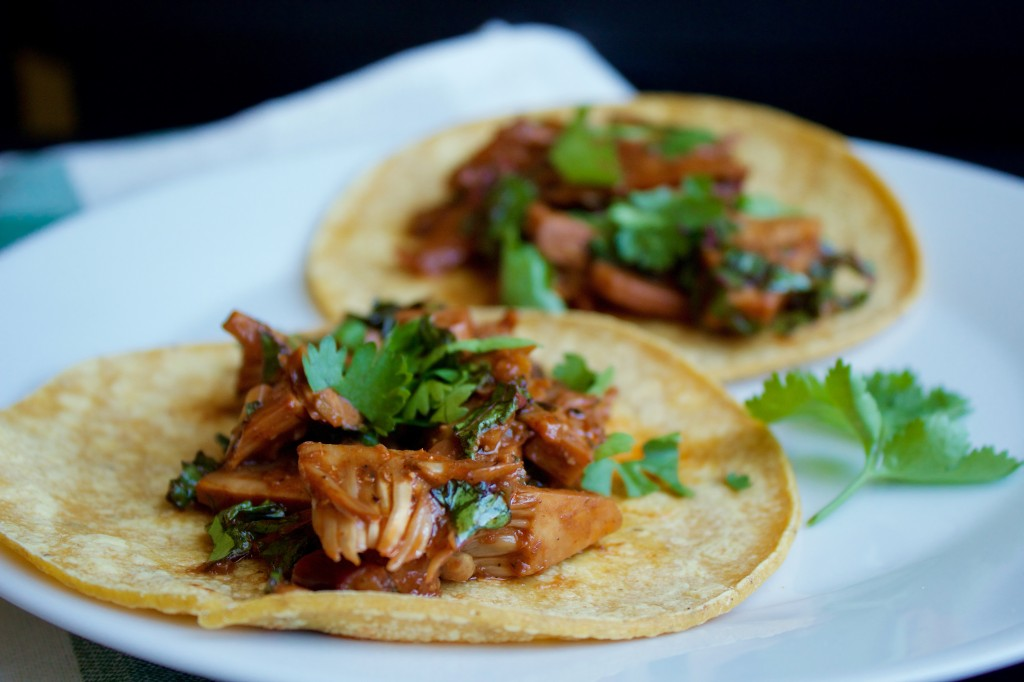 Jackfruit Tacos Warm