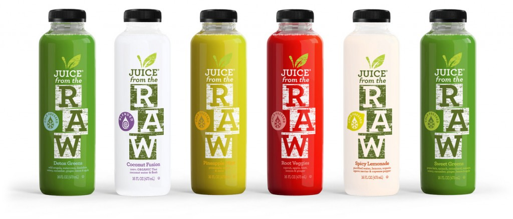 juice from the raw, vegan detox
