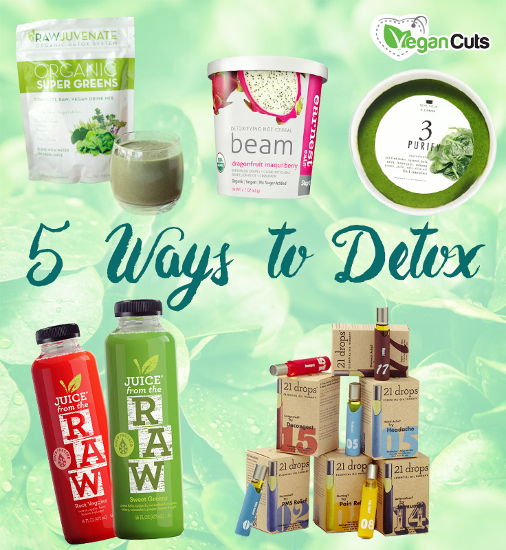 Vegan Detox and Cleanse Options