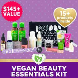 Vegan Beauty Essentials Kit - $145+ Value, 15+ Products Inside